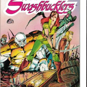 SWORDS OF THE SWASHBUCKLERS GN