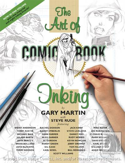 ART OF COMIC BOOK INKING TP #2