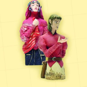 STARDUST MINI BUST SET #2: Tristram and the Witch