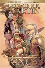 A CLASH OF KINGS (GEORGE RR MARTIN) #11 Mel Rubi cover B