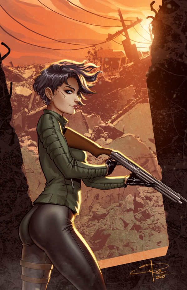 COURIER: LIBERTY AND DEATH #2 Sabine Rich cover B