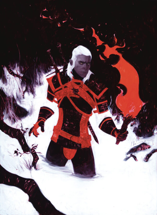 WITCHER: FADING MEMORIES #4: Jeremy Wilson cover B