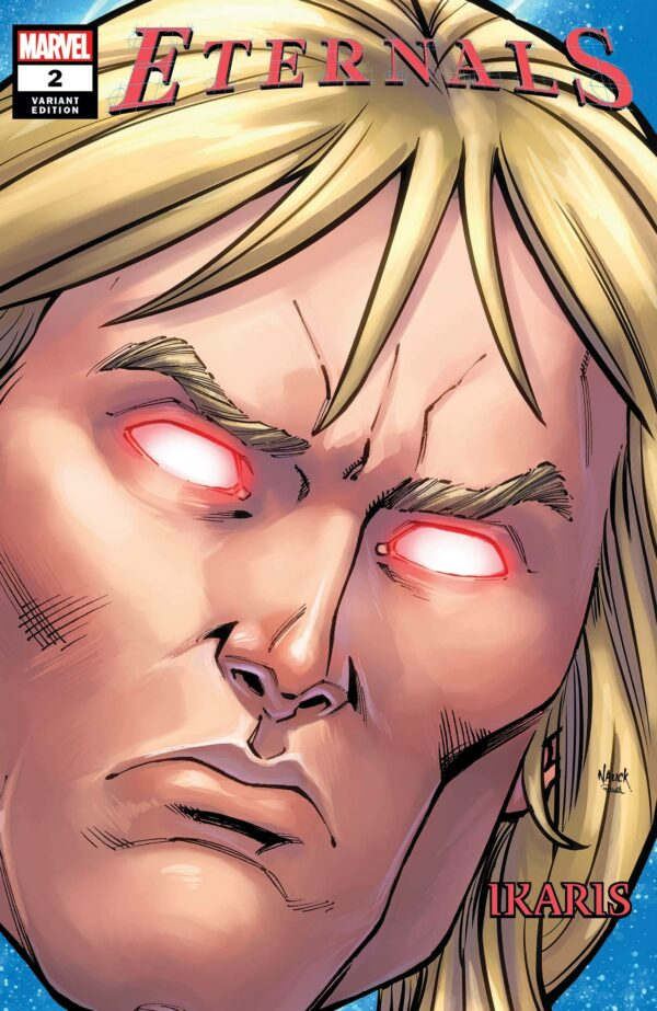 ETERNALS (2021 SERIES) #2: Todd Nauck Headshot cover