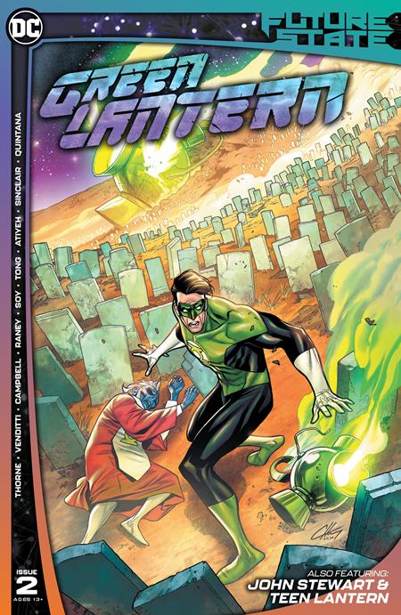 FUTURE STATE: GREEN LANTERN #2: Clayton Henry cover A