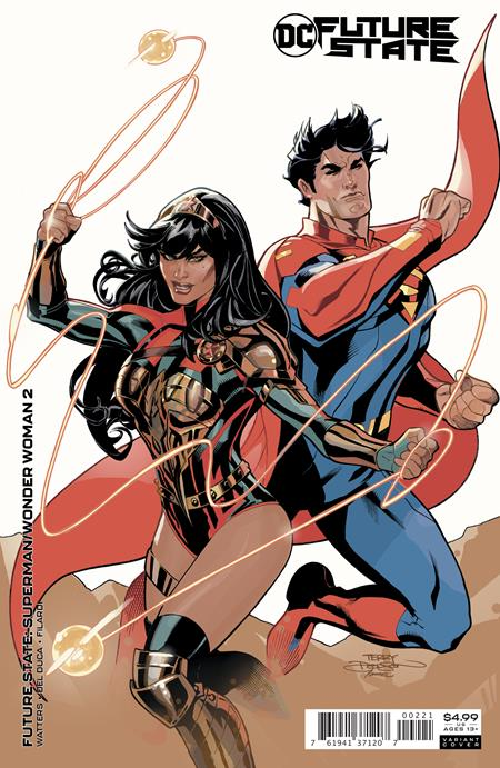 FUTURE STATE: SUPERMAN/WONDER WOMAN #2: Terry Dodson cover B