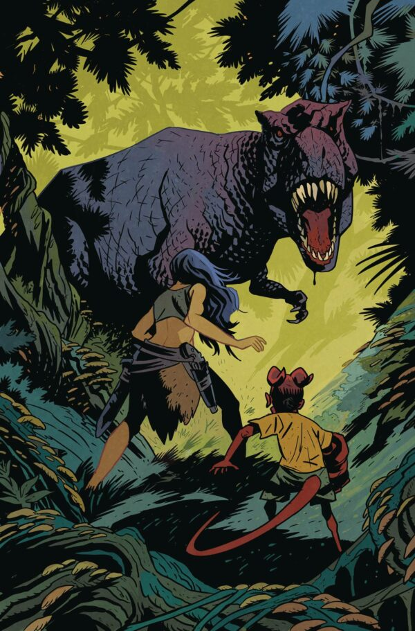 YOUNG HELLBOY: THE HIDDEN LAND #2: Matt Smith cover A