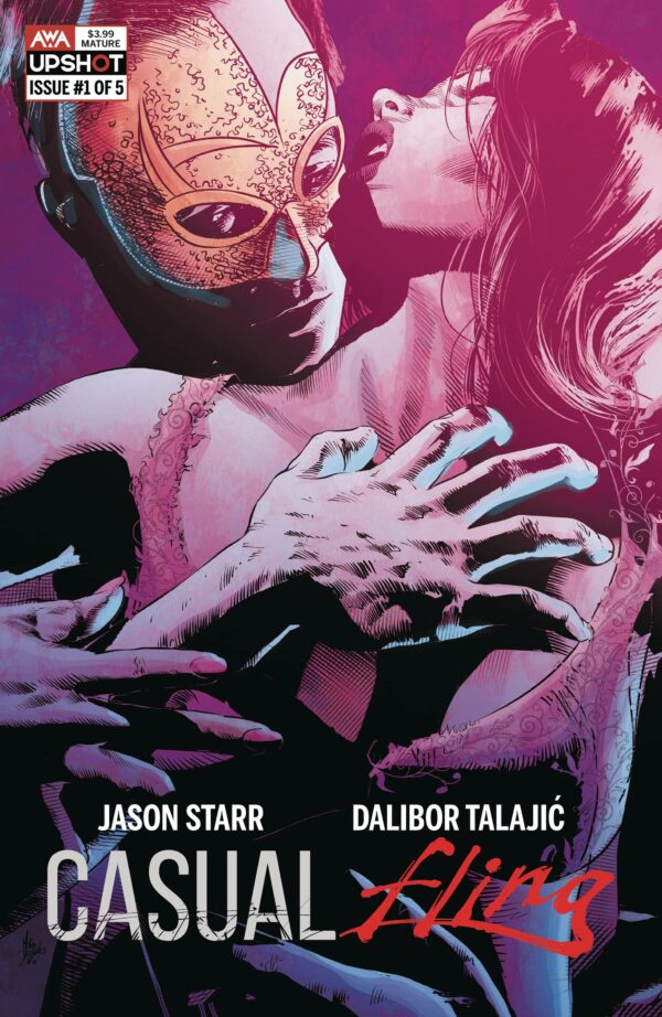 CASUAL FLING #1: Mike Deodato Jr. cover B