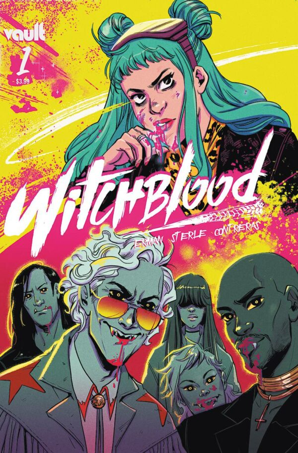 WITCHBLOOD #1: Lisa Sterle cover A