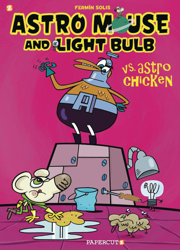ASTRO MOUSE AND LIGHT BULB GN #1: Vs Astro Chicken