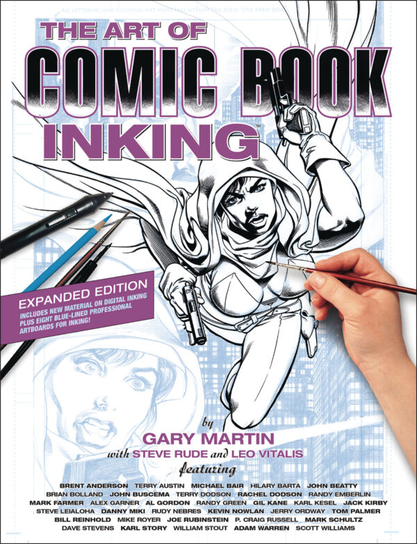 ART OF COMIC BOOK INKING TP #3: 3rd edition