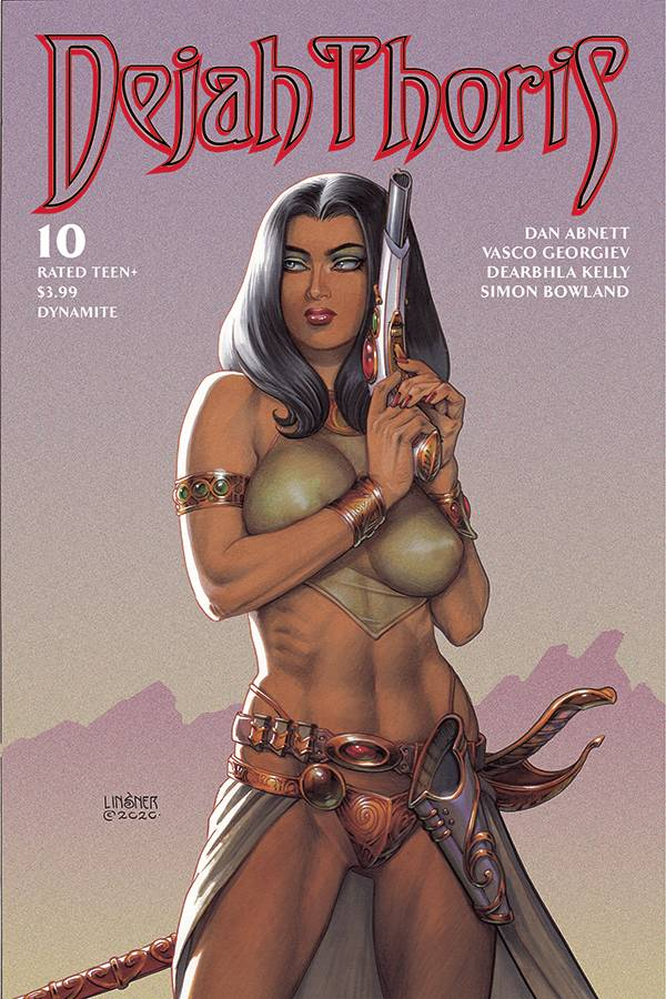 DEJAH THORIS (2019 SERIES) #10: Joseph Michael Linsner cover C
