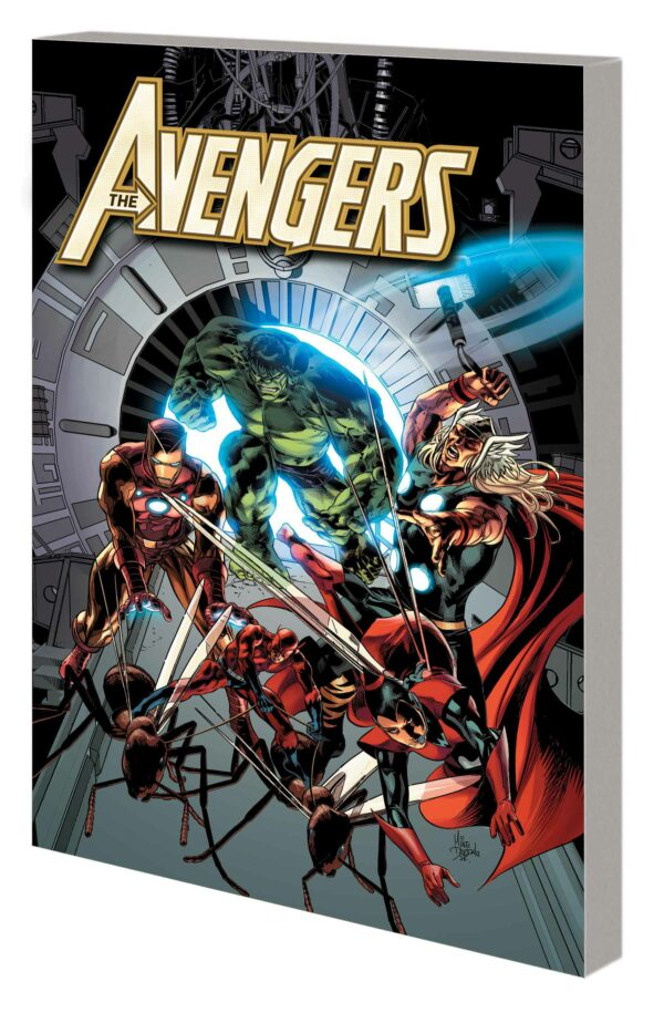 AVENGERS BY HICKMAN COMPLETE COLLECTION TP #4