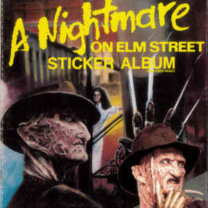 NIGHTMARE ON ELM STREET STICKER BOOK