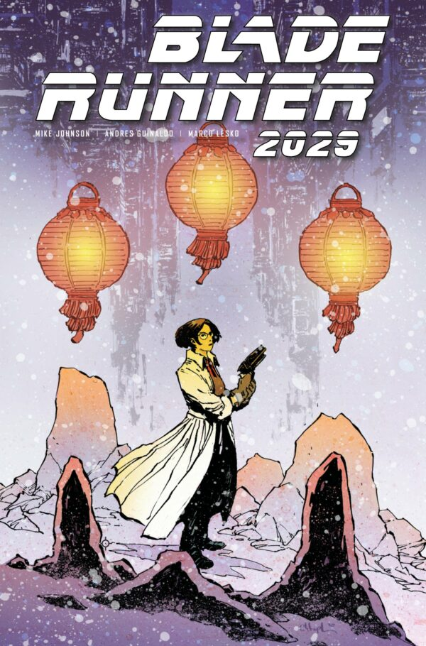 BLADE RUNNER 2029 #4: Christopher Mitten cover C