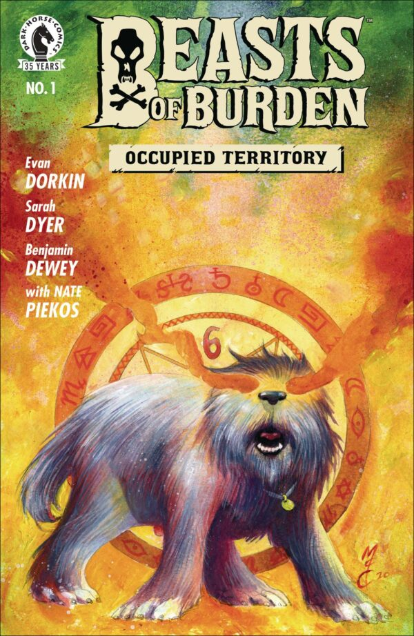 BEASTS OF BURDEN: OCCUPIED TERRITORY #1 John McCrea cover B