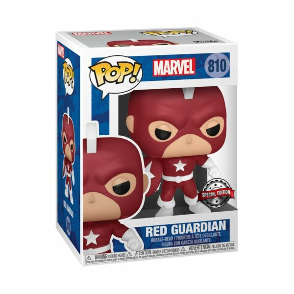 POP MARVEL VINYL FIGURE #810: Red Guardian (Year of the Shield)