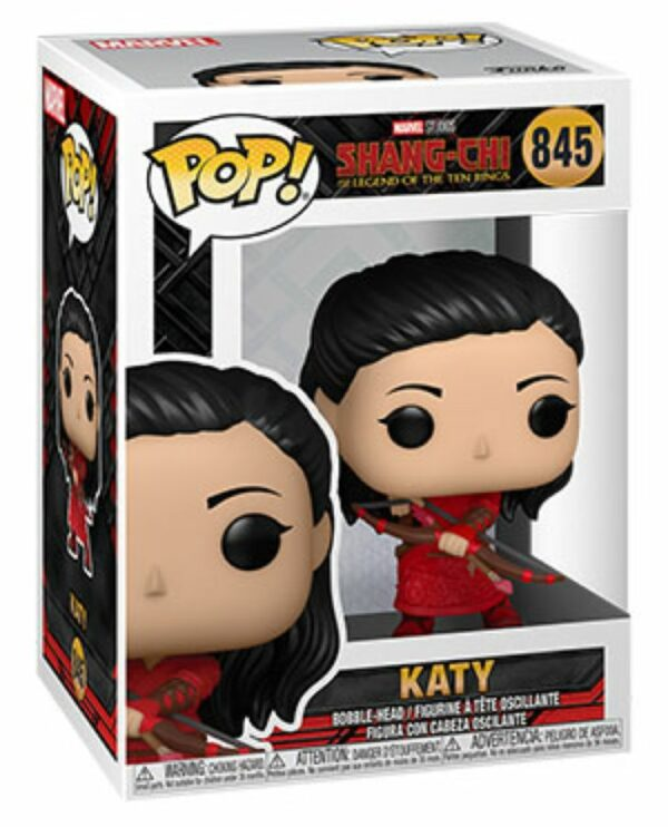 POP MARVEL VINYL FIGURE #845: Katy with Bow: Shang-Chi & Legend of the Ten Rings