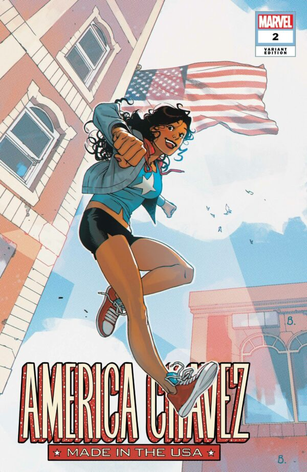 AMERICA CHAVEZ: MADE IN USA #2: Bengal cover