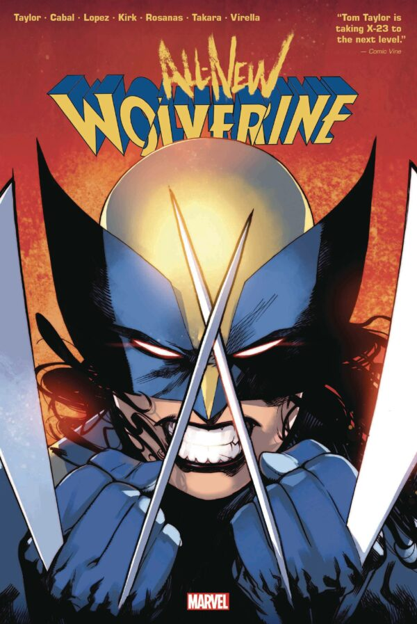 ALL-NEW WOLVERINE BY TOM TAYLOR OMNIBUS (HC): Bengal cover