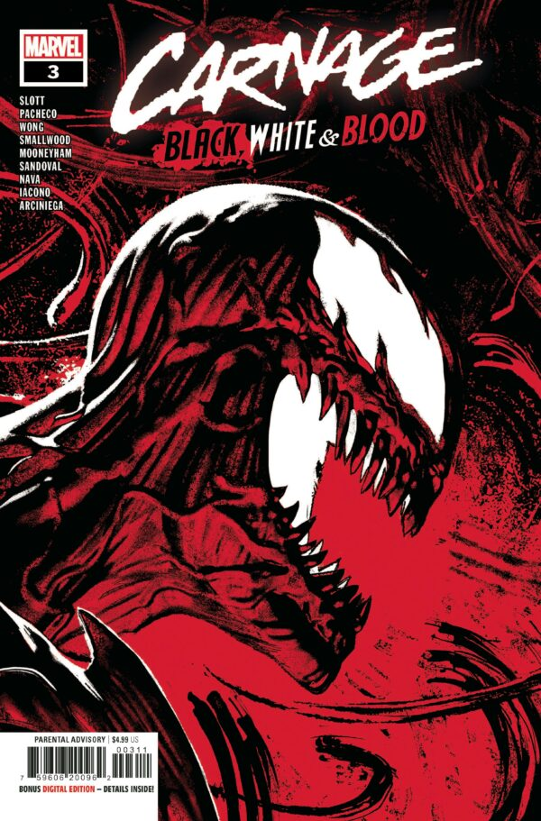 CARNAGE: BLACK WHITE AND BLOOD #3