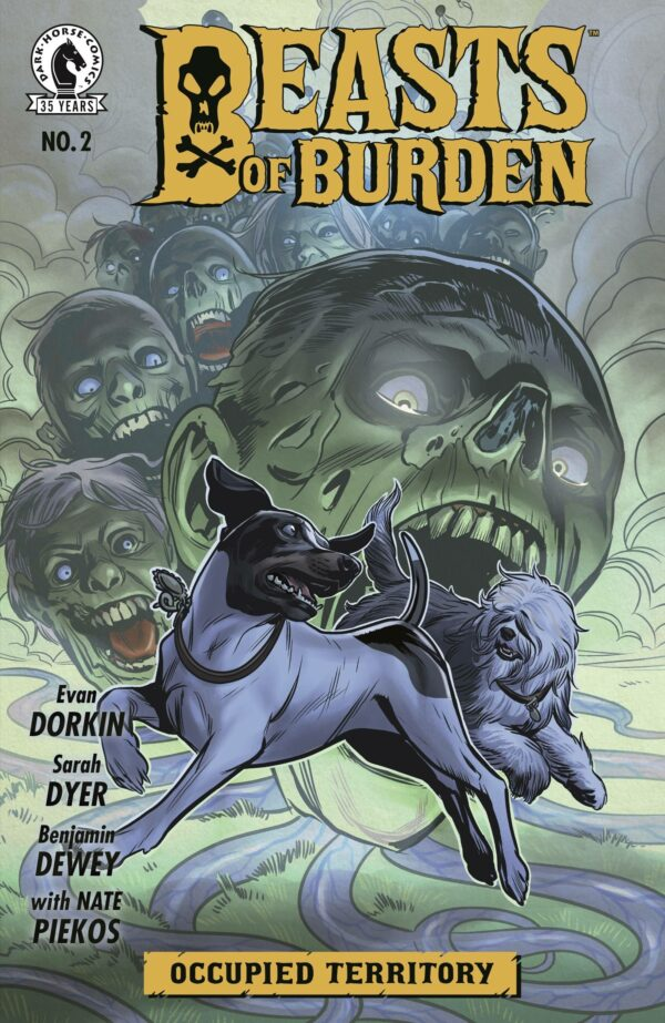 BEASTS OF BURDEN: OCCUPIED TERRITORY #2: Benjamin Dewey cover A
