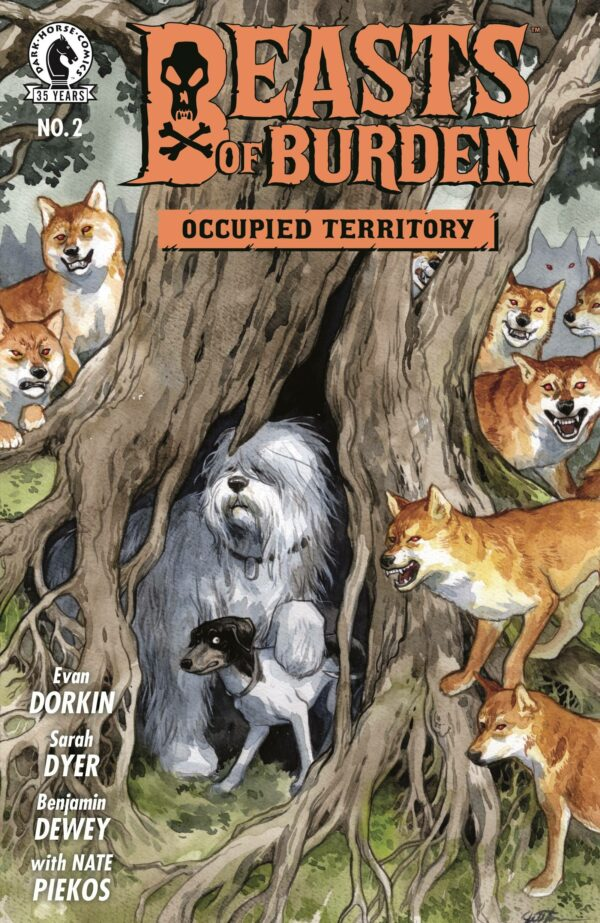 BEASTS OF BURDEN: OCCUPIED TERRITORY #2: Jill Thompson cover B