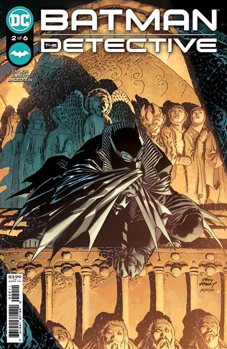BATMAN: THE DETECTIVE #2: Andy Kubert cover A