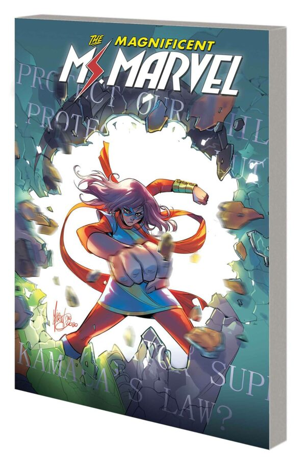 MS. MARVEL BY SALADIN AHMED TP #3: Outlawed (#13-18)