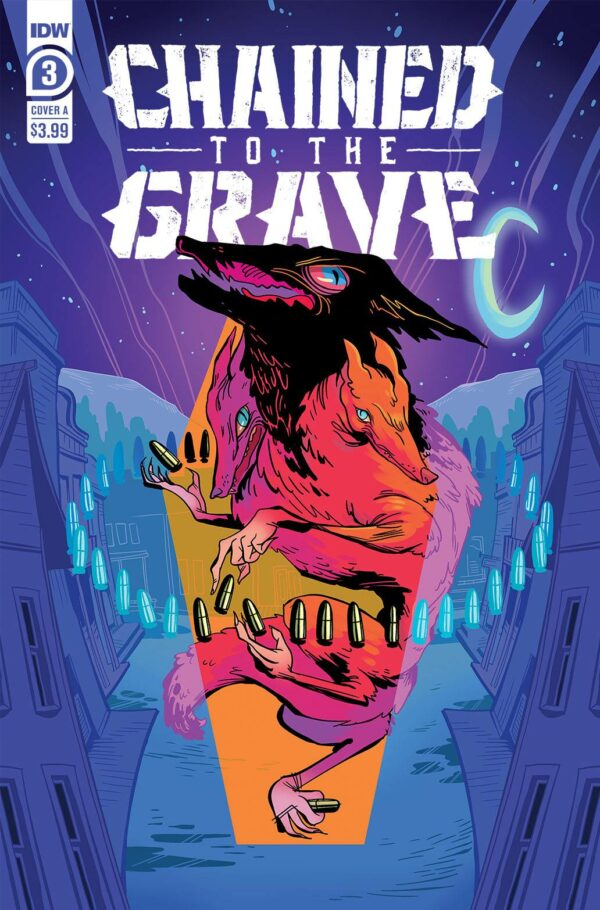 CHAINED TO THE GRAVE #3 Kate Sherron cover A
