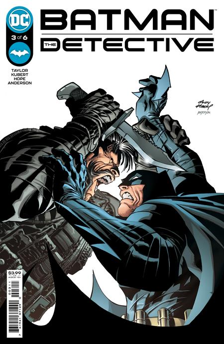 BATMAN: THE DETECTIVE #3: Andy Kubert cover A