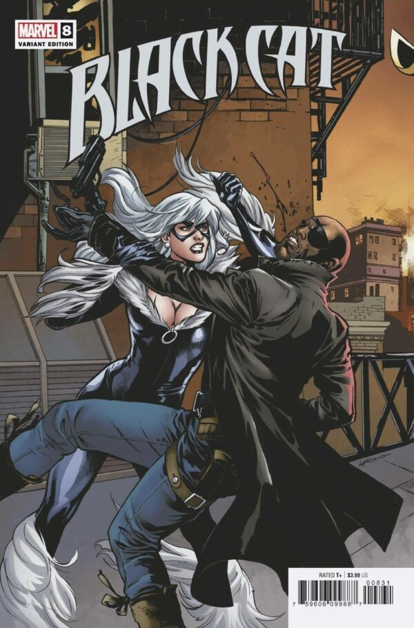 BLACK CAT (2021 SERIES) #8: Emanuela Lupacchino connecting cover