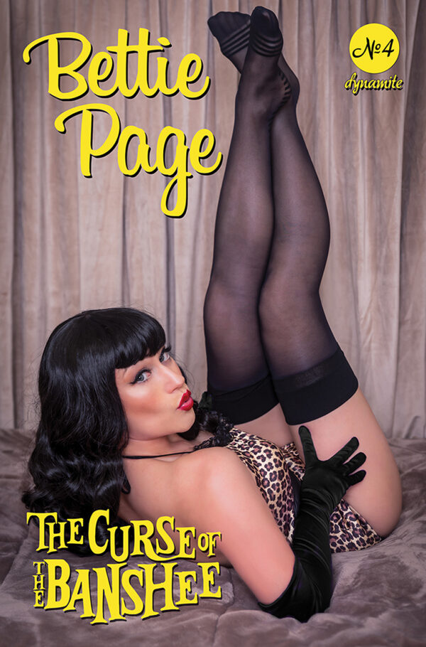 BETTIE PAGE & THE CURSE OF THE BANSHEE #4: Rachel Hollon Cosplay cover D