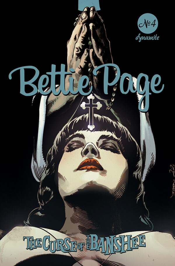 BETTIE PAGE & THE CURSE OF THE BANSHEE #4: Stephen Mooney cover C