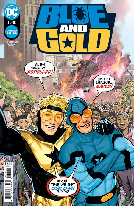 BLUE AND GOLD #1: Ryan Sook cover A