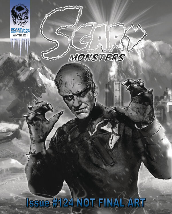 SCARY MONSTERS MAGAZINE #124
