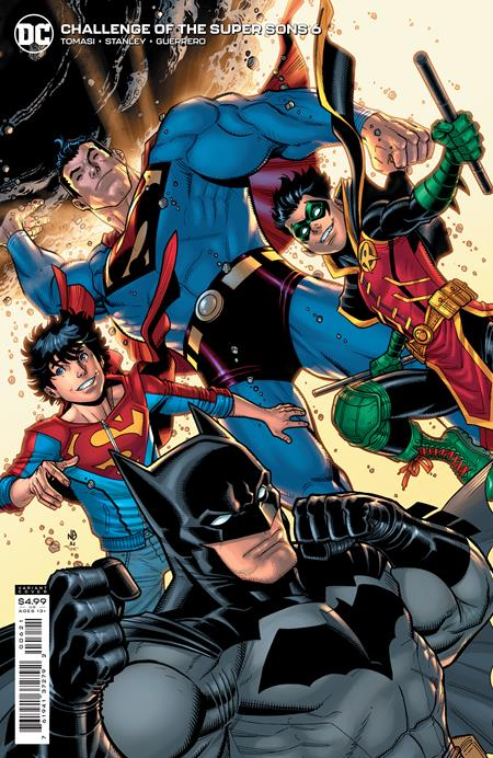 CHALLENGE OF THE SUPER SONS #6: Nick Bradshaw cover B