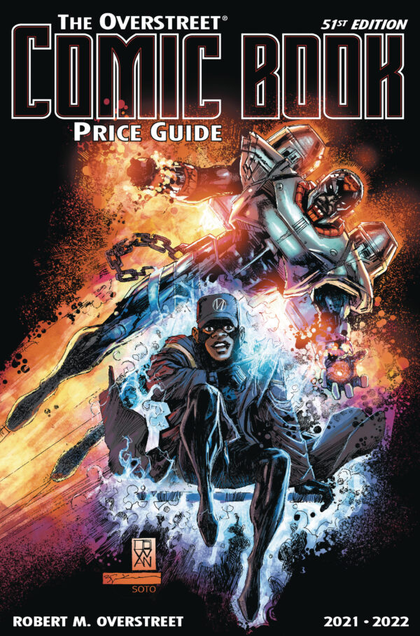 OVERSTREET PRICE GUIDE #51: Static/Hardware cover by Cowan & Sienkiewicz