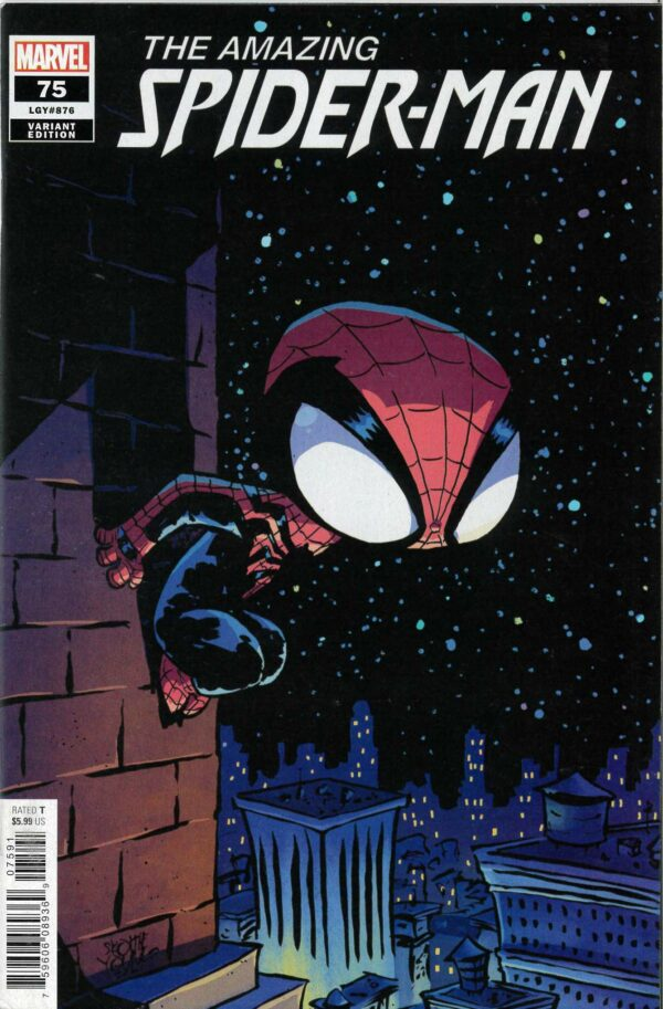 AMAZING SPIDER-MAN (2018- SERIES) #75: Skottie Young cover