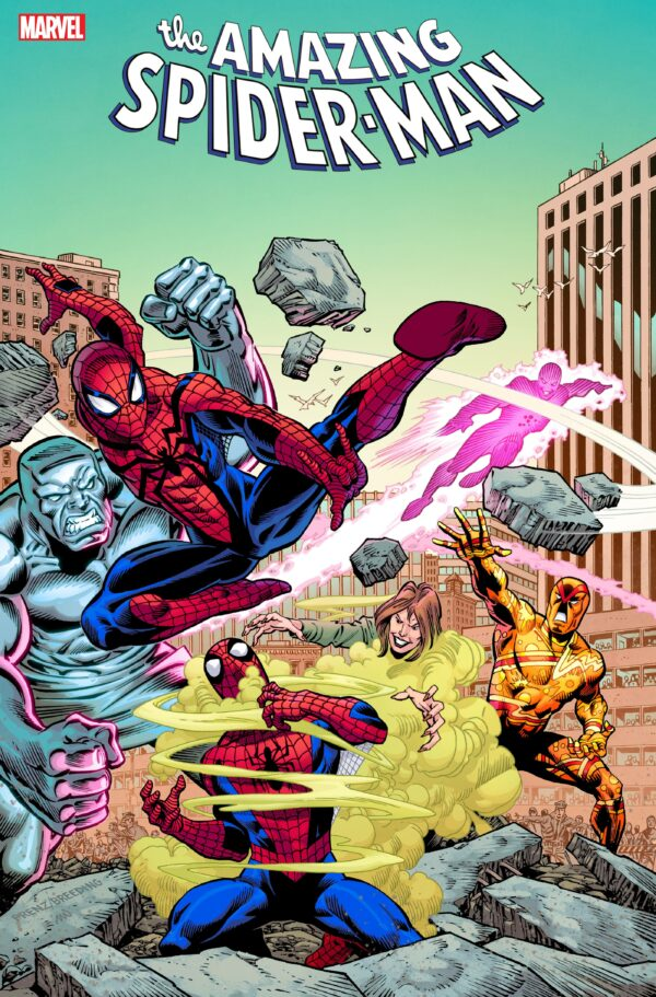 AMAZING SPIDER-MAN (2018- SERIES) #75: Ron Frenz cover
