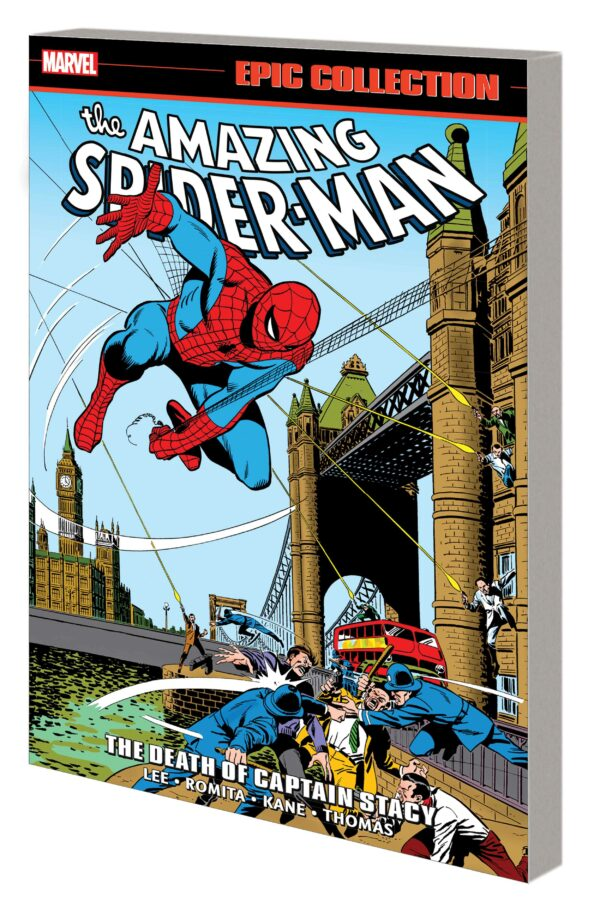 AMAZING SPIDER-MAN EPIC COLLECTION TP #6: The Death of Captain Stacy (#86-104)